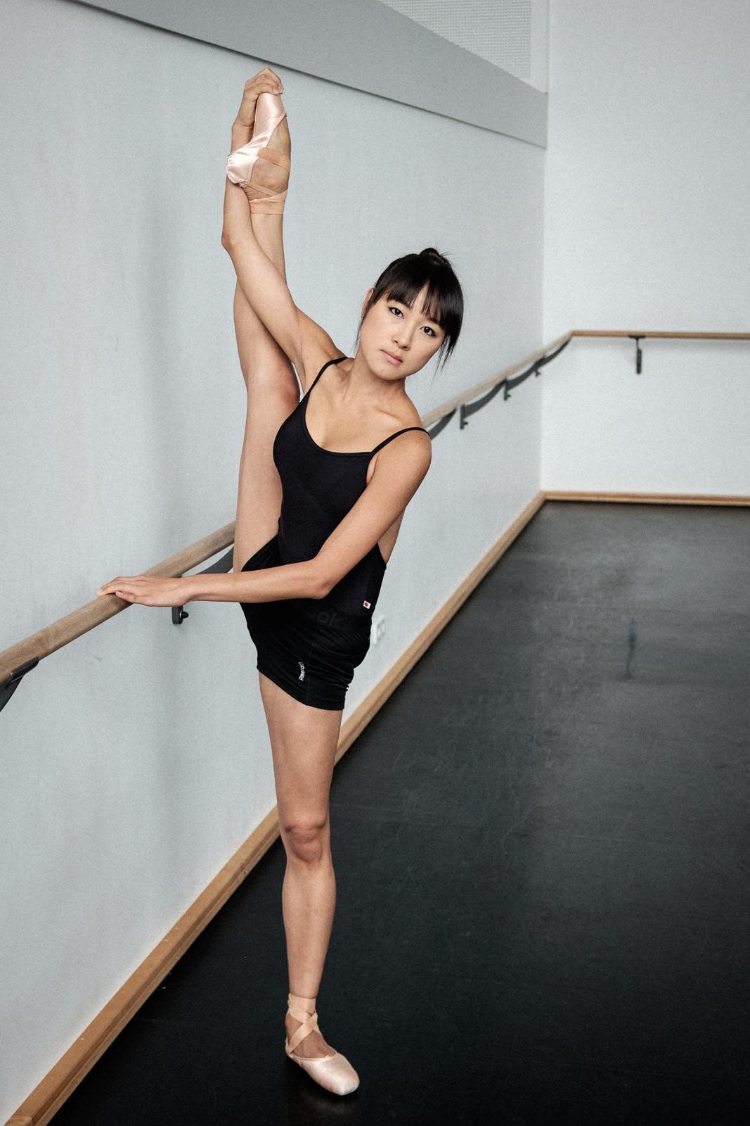 warmup ballet studio staatsballett