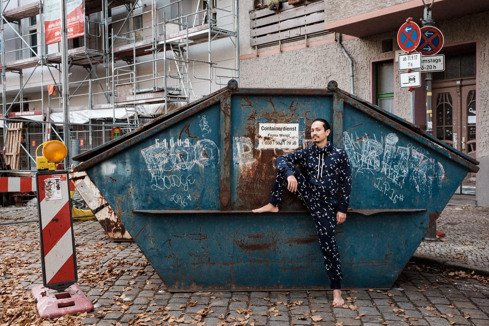 environmental portrait of contemporary creative dancer