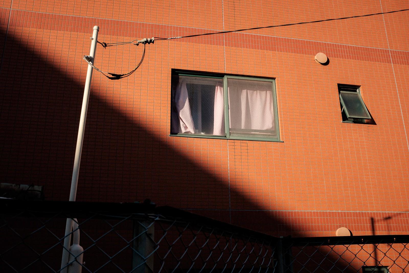 orange golden hour shinsen tokyo